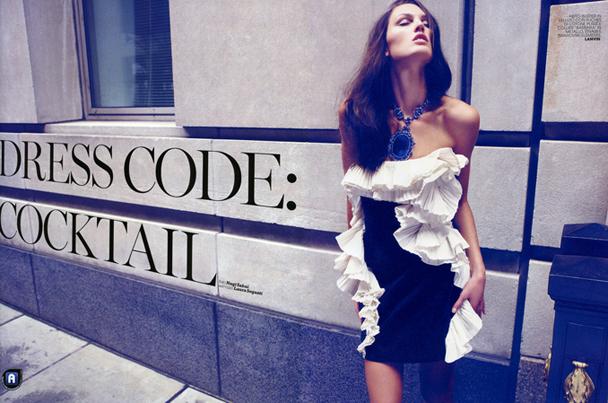 Dress Code Cocktail в Marie Claire, Италия