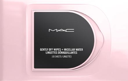 MAC gently off wipes