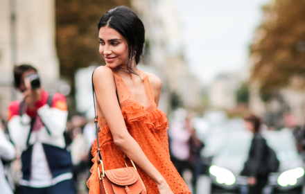 Street style вдъхновения: Orange is the new Pink