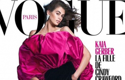 16-годишната Кая Гербер краси френския Vogue