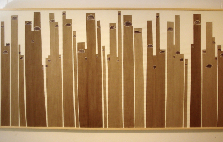Хартиено време /дърво, хартия, прах/
