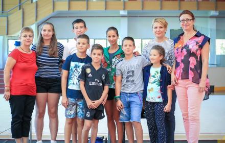 """Шампионката Симона Пейчева с интервю пред млади журналисти в """"Камчия"""""""
