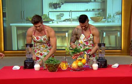 Директно от ПР-а: Галин и Иво Аръков в първата олимпиада за голи готвачи