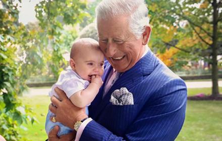 Grandpa Wales: Дядо Чарлс & внуче Луи
