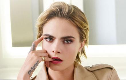 Stellar Shine: Dior Addict = Кара Делевин
