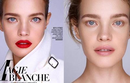 Magie Blanche: Водянова за Madame Figaro