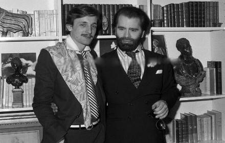 Големите любовни истории: Карл Лагерфелд & Жак дьо Баше