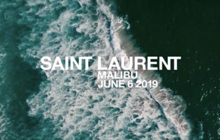 Мъжката на Saint Laurent заминава за Малибу