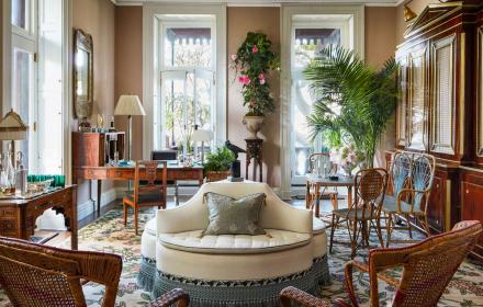 Модни апартаменти на модни дизайнери - Адам Липс, партньорът, мястото им