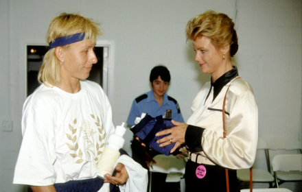 Големите любовни истории: Мартина Навратилова и Джуди Нелсън