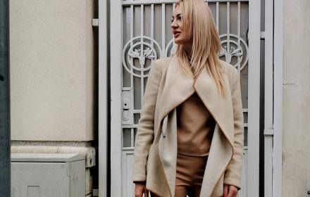 Sofia Street Style: La vie en beige