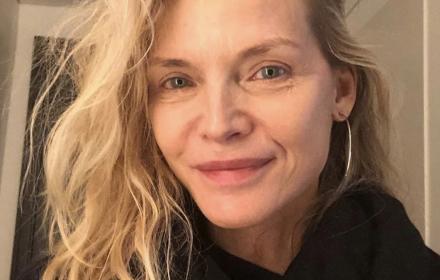 Животът след 50: make-up free Мишел Пфайфър