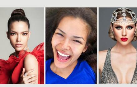 Без капка грим: Мис Вселените 2019 преди и след