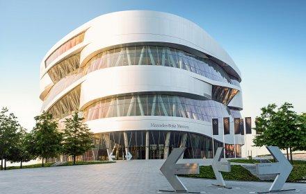 Да разгледаш Музея на Mercedes-Benz от вкъщи