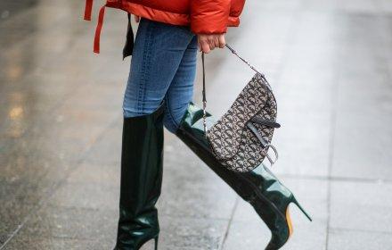 Миналото: историята на Oblique десена, емблемата на Dior