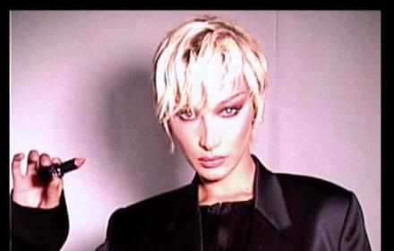 Beauty Starter: Бела Хадид за Dior, много руса и много розова