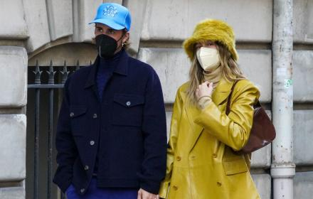 Обичта на известните: Джъстин и Хайли Бийбър в Париж