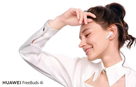 Стартират продажбите на TWS слушалките Huawei FreeBuds 4i с активно шумопотискане и до 10 часа музика в движение