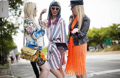 Street Style вдъхновения...  Улица на цветни петна