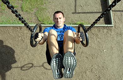 Преди употреба на кондиционно спортуване прочетете упътването с Иван и adidas CLIMACHILL