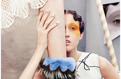 Кой как избра да се рекламира: Пат и Анна Кливланд за Neiman Marcus