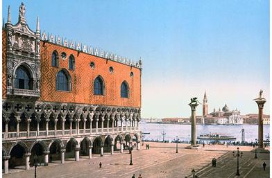 Една единствена Венеция! 100 години назад в редки снимки