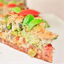 Солен кекс със зеленчуци