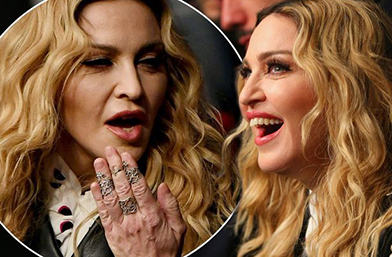 Ръцете издават... годините, Мадона!