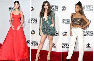 Кой какво облече на Американските музикални награди