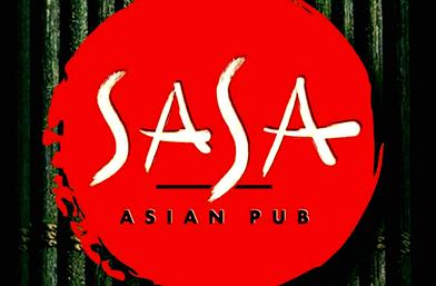 SASA Asian Pub: Преобръща представи!