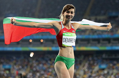 """Мирела Демирева е """"Спортист на година"""""""