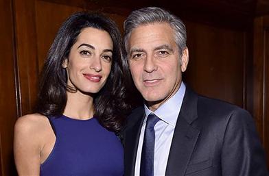 Джордж и Амал очакват близнаци през март!