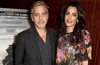 Бременната Амал Клуни се показа!