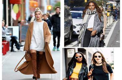 Street style вдъхновения: IT момичетата и зимен off-duty стил