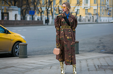 Street style вдъхновения: From Russia with love!