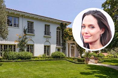 Лукс за 25 милиона: Ето къде ще се ширят Анджелина и децата