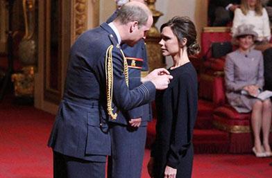 Виктория Бекъм вече си има кралски орден