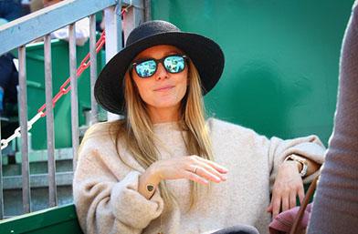 Много бременна и много стилна: Йелена на Джокович