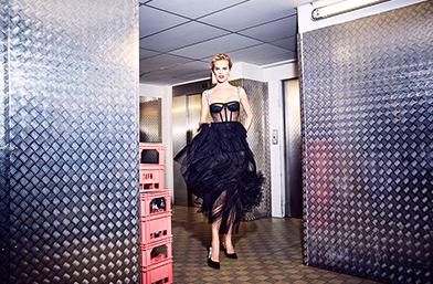 We love: Eва Херцигова в дебютната колекция на Мария Грация Кюри за Dior