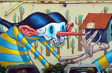 Графити тур в София = усмивки и вдъхновение!