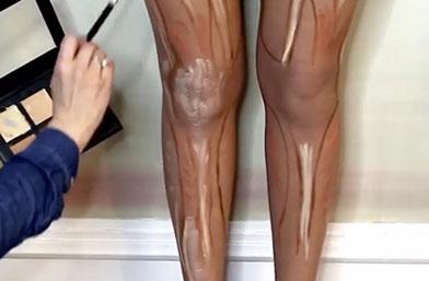 Dare U: Контурирани крака?!?!