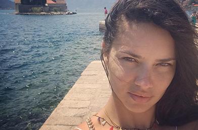 Адриана Лима се събра с бившия в Черна гора