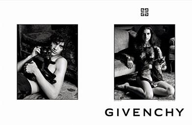Първа рекламна кампания на Келър за Givenchy