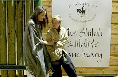 We love: Анджелина и Шайло в Намибия