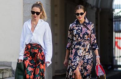 Стил урок на седмицата: Флоралната рокля