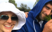 Обичта на известните: Ноле и Йелена във Франция
