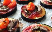 Лесни рецепти от Деница Костадинова: №1 - мини патладжанени пици