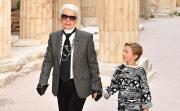 11-годишният Хъдсън ли ще наследи милионите на Лагерфелд?