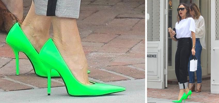 Да или Не: На Вики огромните и много остри обувки?