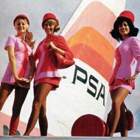 We love: стюардеси от миналото